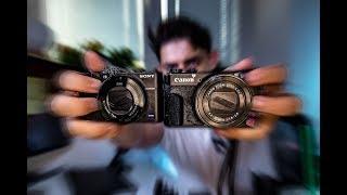 Обзор canon g7x mark ii vs sony rx100 v - Лучшая камера для ВЛОГОВ - САМЫЙ ПОЛНЫЙ ОБЗОР
