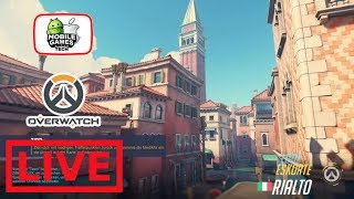 Overwatch NEW MAP RIALTO Livestream Gameplay 1080p PS4 Pro