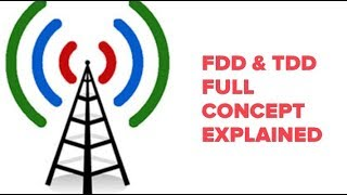 FDD & TDD Frequency division duplex & time division duplex concept of Telecom
