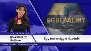 TV Budakalász / Kultúrkörkép / 2018.11.15.