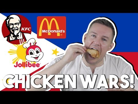 Which Fast Food Fried Chicken is best? (HONEST REVIEW: KFC vs JOLLIBEE vs MCDONALD'S)
