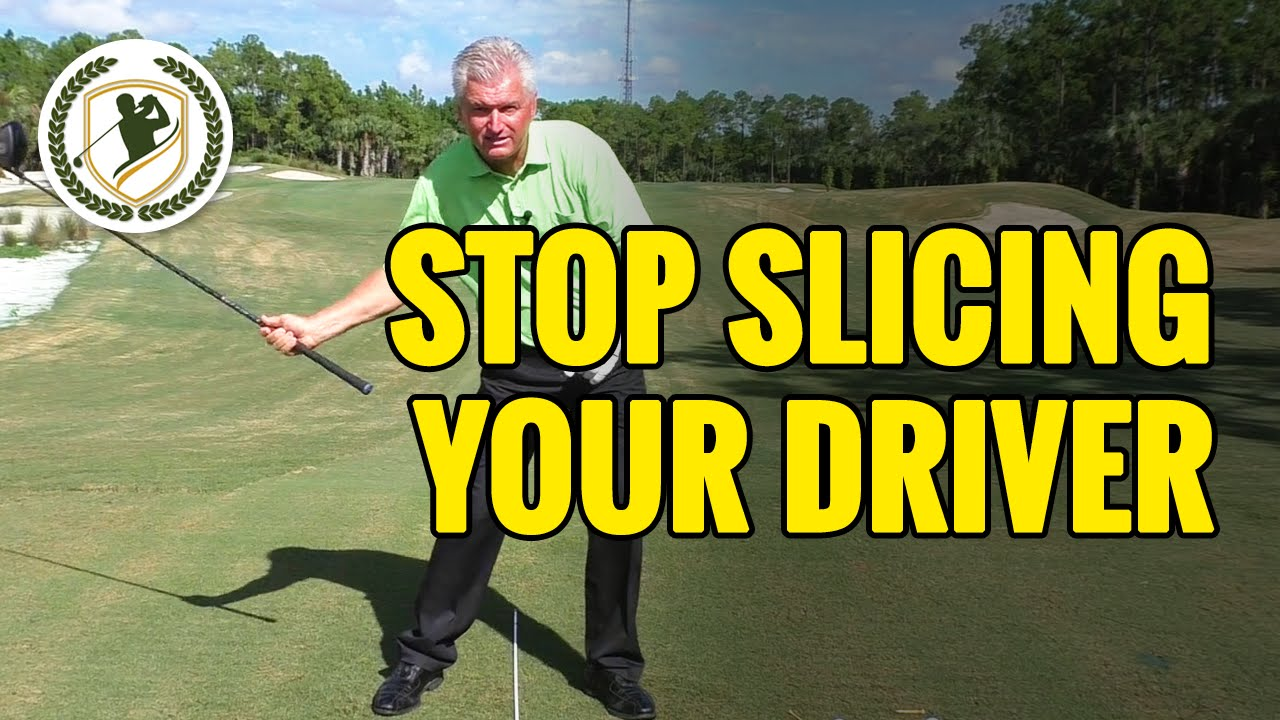 HOW TO FIX A GOLF SLICE WITH DRIVER IN 2 MINUTES!