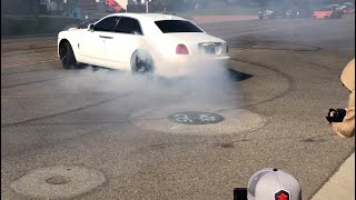 Rolls Royce Ghost Doing Donuts? Behind The Scenes With Rampage Jackson And Street Runners Group