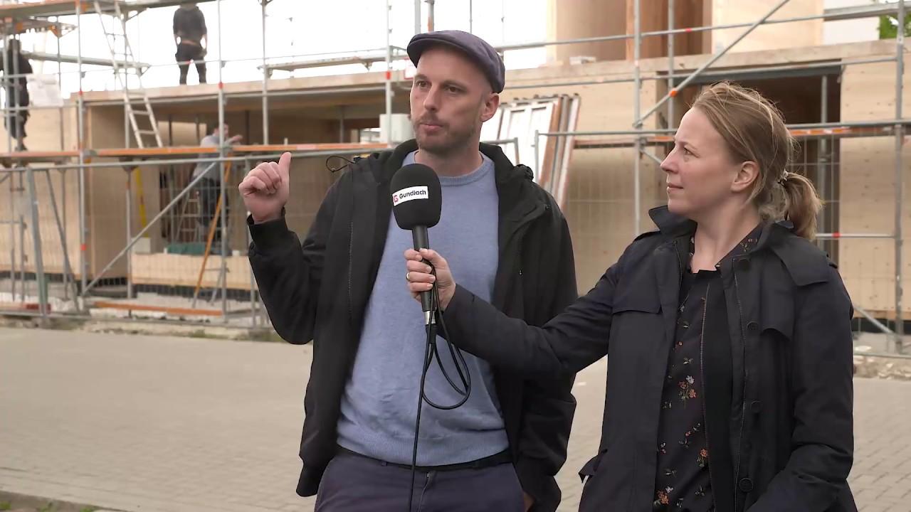 Kurzdoku | Wir bauen ein Recyclinghaus am Kronsberg