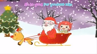 Santa Claus Is Coming To Town lyrics - Animation - Christmas songs for children