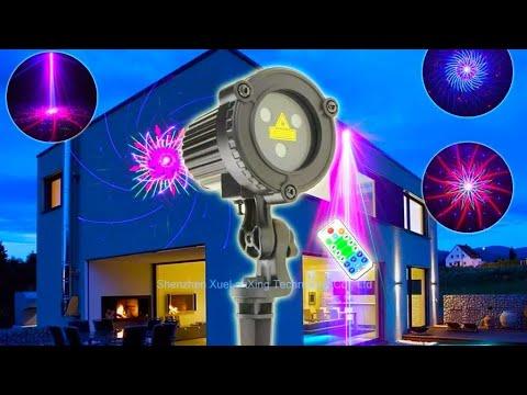 Лазерный ландшафтный проектор ESHINY B208N8 / ESHINY Laser Landscape Projector
