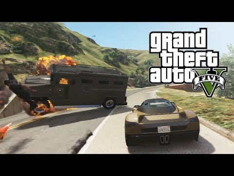 Intense Police Chase Shows Off How Cool GTA Online's Content Creator Is