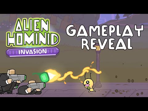 Manic co-op of Alien Hominid Invasion revealed in PAX East gameplay trailer