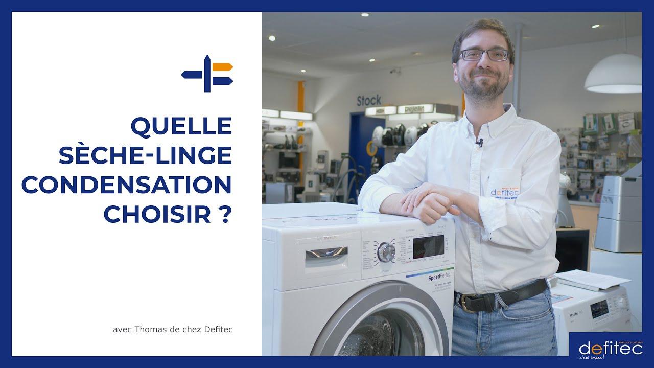 Sèche-linge à condensation rapide ou à basse consommation énergétique ? Comment choisir ?
