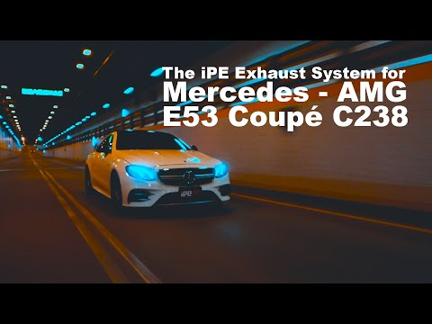 The iPE Exhaust System for the Mercedes AMG E53 Coupé (C238)