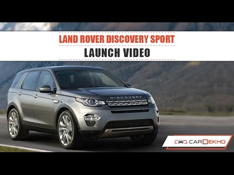 Land Rover Discovery Sport | Launch Video | CarDekho.com