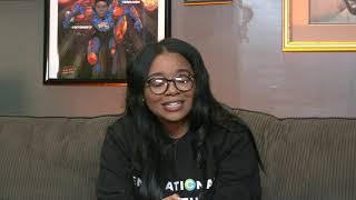 CapWay Mobile Bank's Sheena Allen with Chico Bean and Karlous Miller #blackMArket