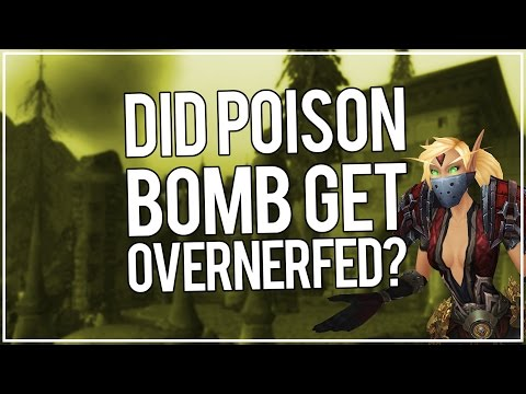 POISON BOMB OVERNERFED? - Outlaw Rogue PvP WoW Legion 7.1.5