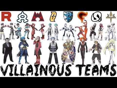All Pokémon Villainous Teams