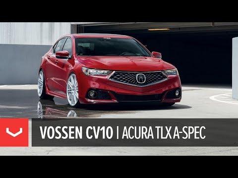 Acura TLX A-Spec | Vossen CV10 Concave Wheels