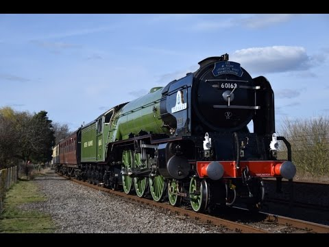 LNER 60163 'Tornado' at the Didcot Railway Centre 25th March…