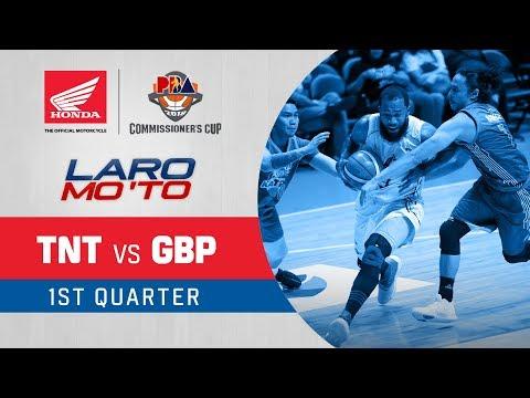 TNT vs. GlobalPort – Q1 | PBA Commissioner's Cup 2018
