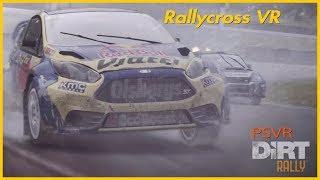 Dirt Rally VR - Rallycross with hard AI - 3 races