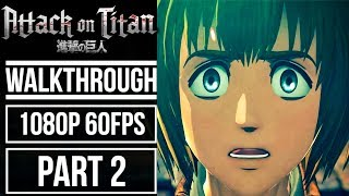 ATTACK ON TITAN WINGS OF FREEDOM Gameplay Walkthrough Part 9