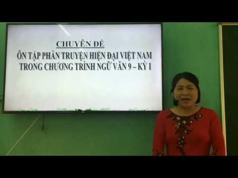 Ôn thi vào lớp 10- Chuyên đề: Ôn tập truyện hiện đại Việt Nam- Cô giáo Trúc Thị Mơ- Trường PTDTNT THCS huyện Hàm Yên.