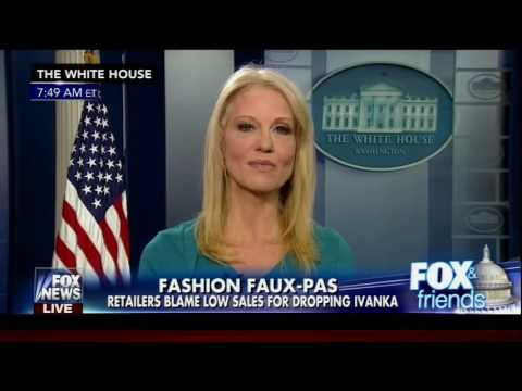 Fox and Friends Kellyanne Conway commercial for Ivanka Trump