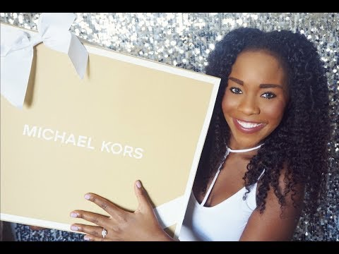 Michael Kors Unboxing and Review|| Kellen Satchel (Blossom)