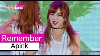 [HOT] Apink - Remember, 에이핑크 - 리멤버, Show Music core 20150801