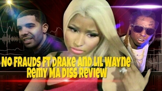 Nicki Minaj - No Frauds Ft Drake & Lil Wayne Review / Reaction | DocHicksTv