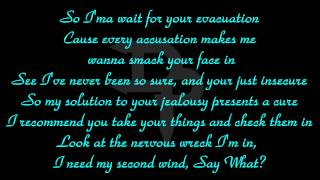 Eminem - Jealousy Woes II { Lyrics In HD }