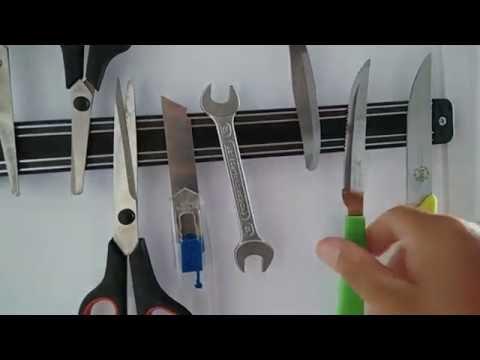 Barra Magnética para Facas de Cozinha
