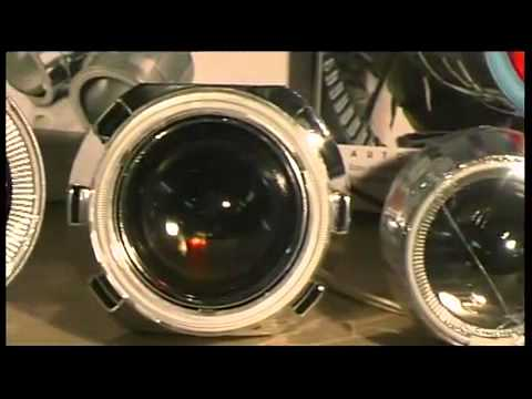 Автомобильная оптика Автотюнинг Зеленый фургон видео