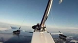 Adrenaline Lab - Jeff Kent Ice Sails At 80 MPH