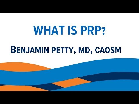 What is Platelet-Rich Plasma (PRP) Therapy?