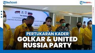 Golkar dan United Russia Party Bakal Lakukan Pertukaran Kader Pascapandemi