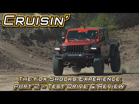 The 2021 FOX Shocks Experience [Part 2]: Off Road Test Drive & Review