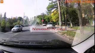В Николаеве автомобиль сбил пенсионера на велосипеде. ВИДЕО