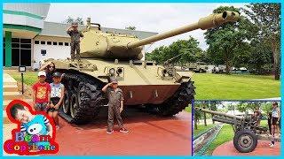 น้องบีม | เที่ยวกาญจนบุรี พิพิธภัณฑ์ทหารผ่านศึกเวียดนาม