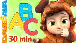 🥁 ABC Song and More Baby Songs   Dave and Ava Nursery Rhymes and Kids Songs 🥁