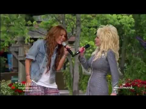 Download Miley Cyrus and Dolly Parton Singing 'Jolene' Mp4 HD Video and MP3