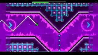 """Geometry dash"" level 17 - Blast Processing (100%)"
