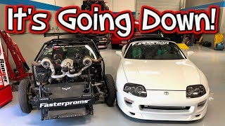 Took The Supra To Visit Cleetus McFarland. A Message For Leroy!
