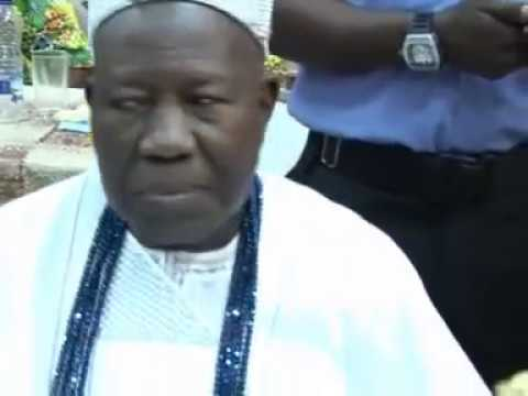 "SEE WHAT OLUBADAN CALLED SAHEED OSUPA ""OBA ORIN  OBA ASA"" PLS. SUBSCRIBE FUJI TV NIGERIA"