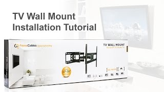 How To Install A TV Wall Mount (Model: Cab LPA36 466 From