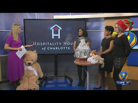 Eyewitness News Anchor Allison Latos speaks with Hospitality House of Charlotte