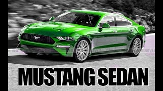 650hp MUSTANG Sedan Coming for CHARGERS!!!!