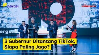 """Tiga gubernur yakni Ganjar Pranowo, Ridwan Kamil, dan Anies Baswedan hadir membuka peringatan satu dekade Mata Najwa yang mengusung tema Kita Bisa Apa. Ketiganya berbagi cerita soal masa muda, membandingkan masa muda dulu dan sekarang.      """"Mau anak muda tahun kita atau tahun kini, sama-sama cinta pada NKRI,"""" ujar Ridwan Kamil.  Di Mata Najwa ini, 3 gubernur juga ditantang untuk main Tik Tok yang lagi kekinian.   """"Kita ini gubernur yang tak pernah tegang kok,"""" kata Ganjar Pranowo sambil memamerkan kaus yang dipakai bertuliskan Gubernur Garis Lucu.   #indonesiabutuhanakmuda #kitabisaapa #1dekadematanajwa #narasi #pastiadajalan  (Narasi)  Tonton juga Mata Najwa eps. [Kita Bisa Apa] dan episode lainnya di https://www.narasi.tv atau klik link di bawah. Part 1: http://bit.ly/3bTyxKn Part 2: http://bit.ly/2u9dSRA Part 3: http://bit.ly/2ubvMTN Part 4: http://bit.ly/2P8CKQZ Part 5: http://bit.ly/2wtN92Z Part 6: http://bit.ly/39Or79z Part 7: http://bit.ly/2V3Ma3S Part 8: http://bit.ly/2HHuOSg   Jangan lupa subscribe, tinggalkan komentar dan share.  Tonton konten lainnya juga di YouTube Channel: - Narasi http://bit.ly/SubscribeYouTubeNarasi - Narasi Newsroom http://bit.ly/SubscribeNarasiNewsroom - Narasi Entertainment http://bit.ly/SubscribeNarasiEntertainment - Narasi Stories http://bit.ly/SubscribeNarasiStories - Narasi Talks http://bit.ly/SubscribeNarasiTalks - Narasi Sports http://bit.ly/SubscribeNarasiSports  Jangan lupa subscribe yaa..  Follow: https://www.instagram.com/najwashihab https://twitter.com/NajwaShihab https://www.facebook.com/najwashihabofficial  YouTube Business Inquiries: youtube@drm-indonesia.com  Najwa Shihab Youtube is under management of: dr.m, Indonesia's 1st Certified & Official Youtube MCN https://servicesdirectory.withyoutube.com/directory/pt-digital-rantai-maya-drm"""