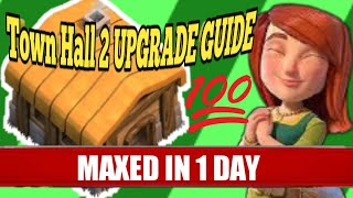 How to MAX Town Hall 2 (FAST) | NEW TH2 upgrade Tips (priority) - Clash of Clans