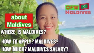 Top 6 QUESTIONS ABOUT MALDIVES!/ WHERE IS MALDIVES? HOW MUCH SALARY IN MALDIVES?