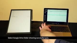 Sony Digital Paper - Sync To Folder