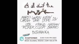 Marco Carola @ Ibiza Global Radio 19-09-2016